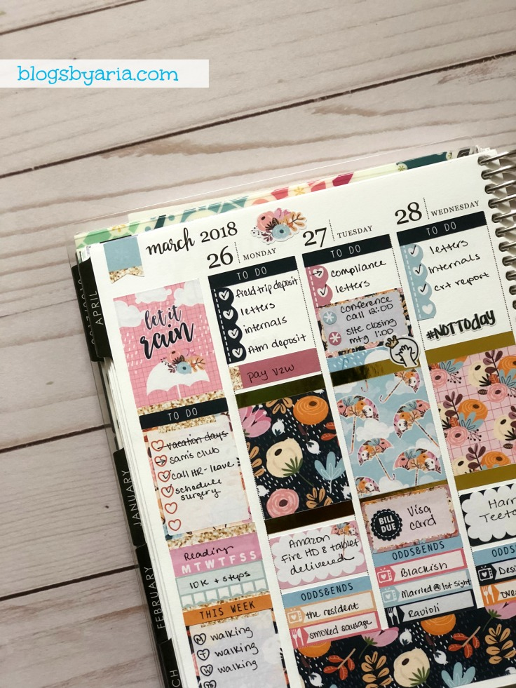 Making your planner pretty and functional