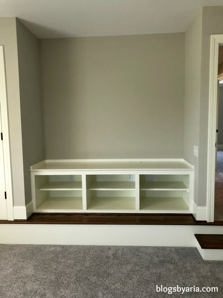 bonus room media storage built-ins perfect for #mancave