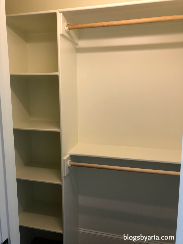Bonus Room Closet