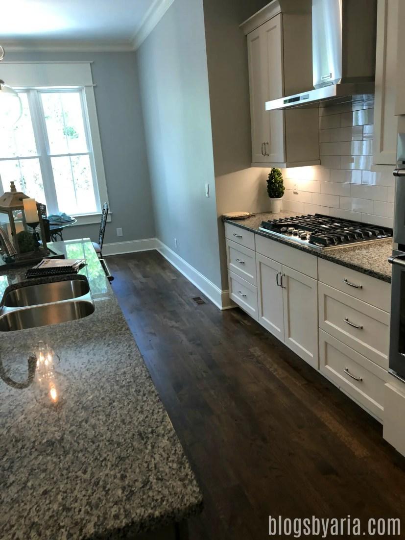 white kitchen details