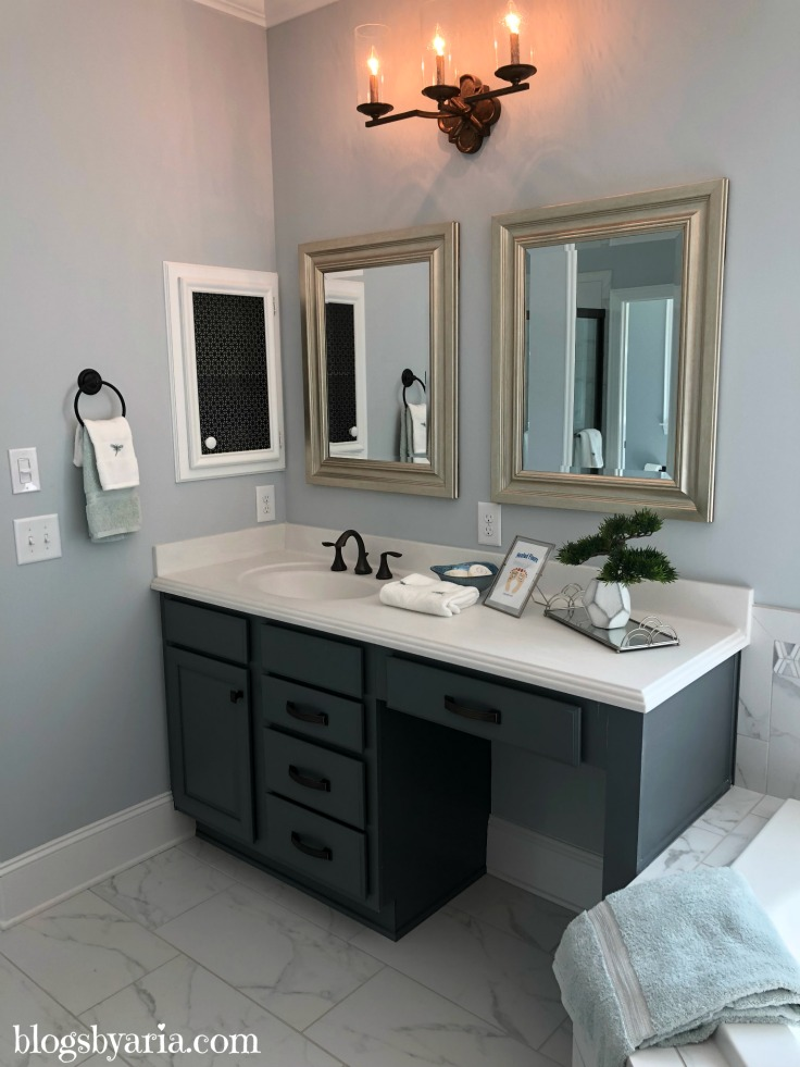master bathroom makeup vanity