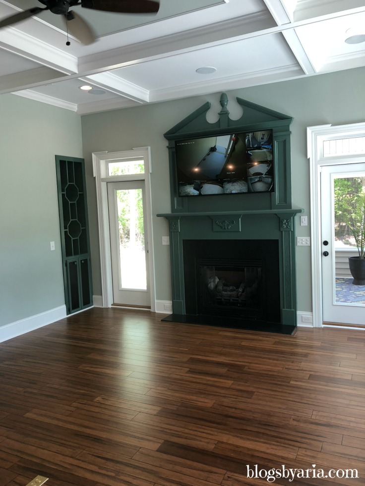 trey ceiling #livingroom #familyroom #designideas