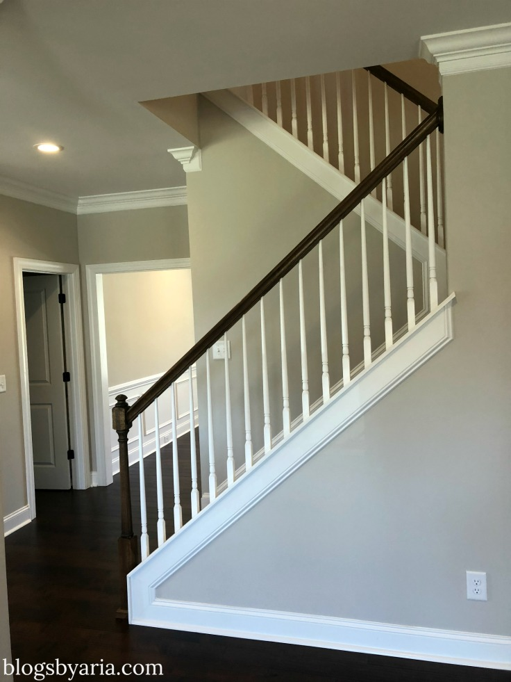 traditional house tour stairs