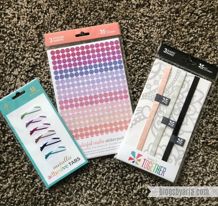 Erin Condren Planner Accessories