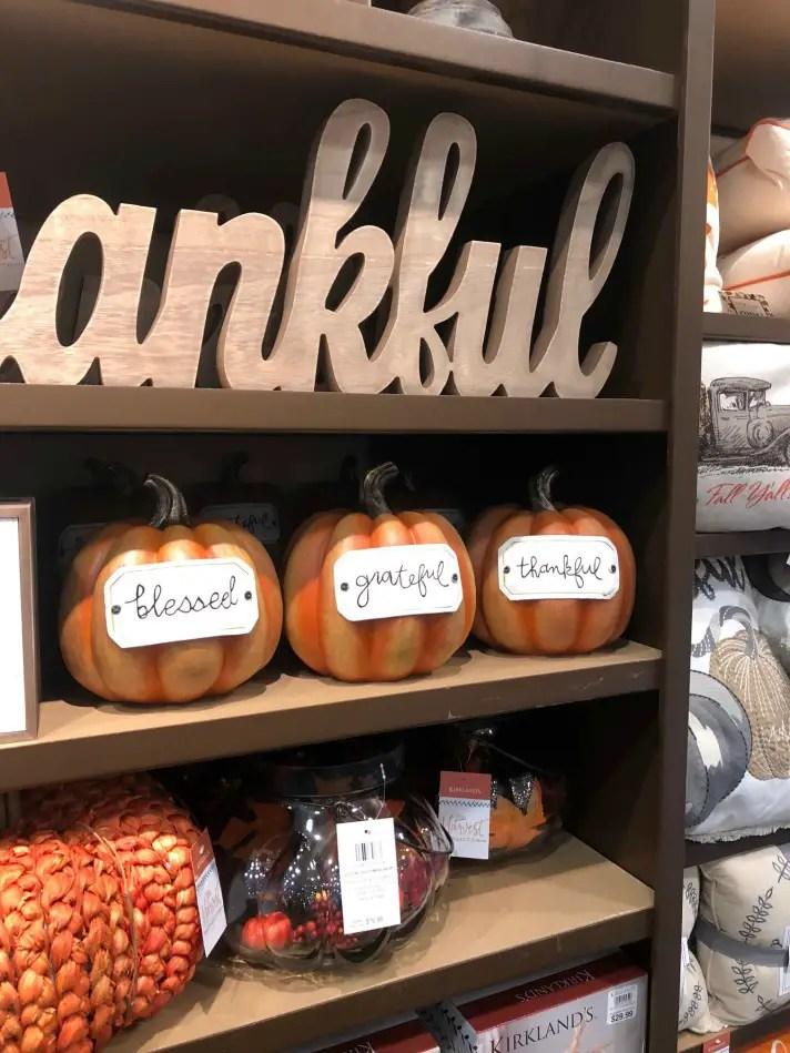 Scripted Tag Orange Pumpkins