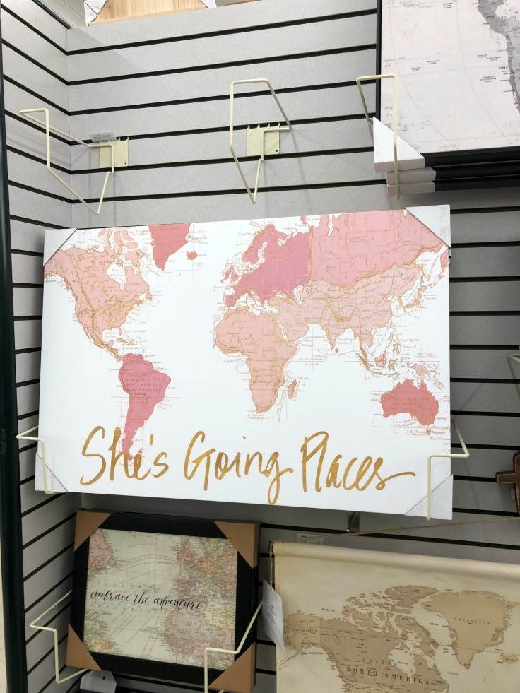 She's Going Places Canvas Wall Decor