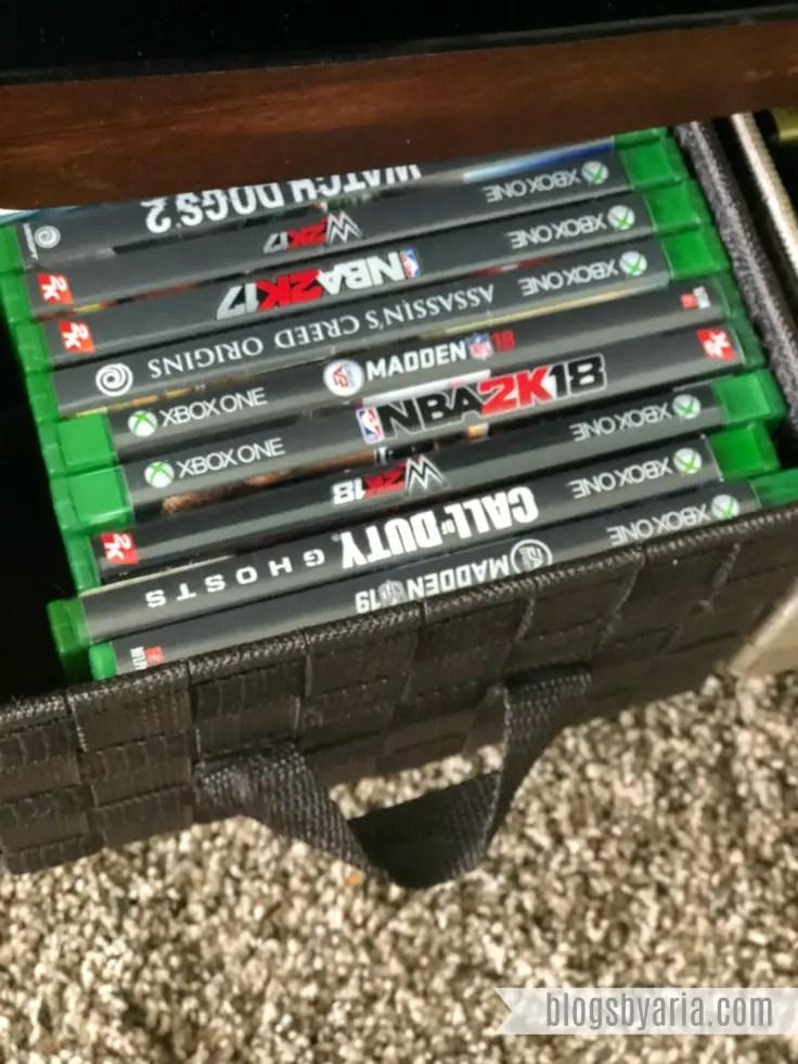 video game organization #dvdorganization #dvdstorage #organize