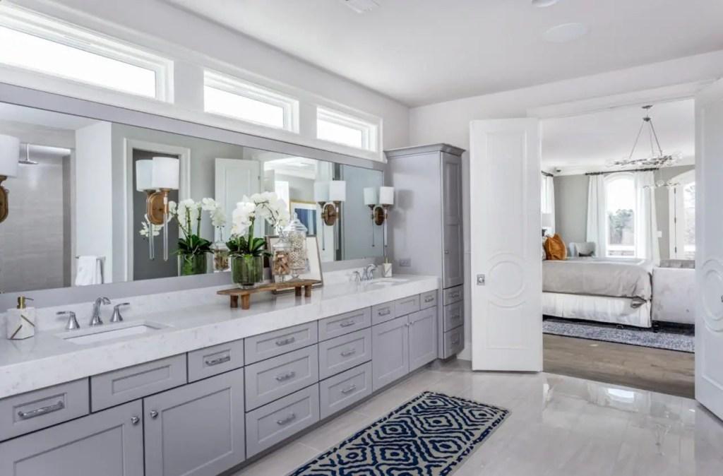 large double vanity