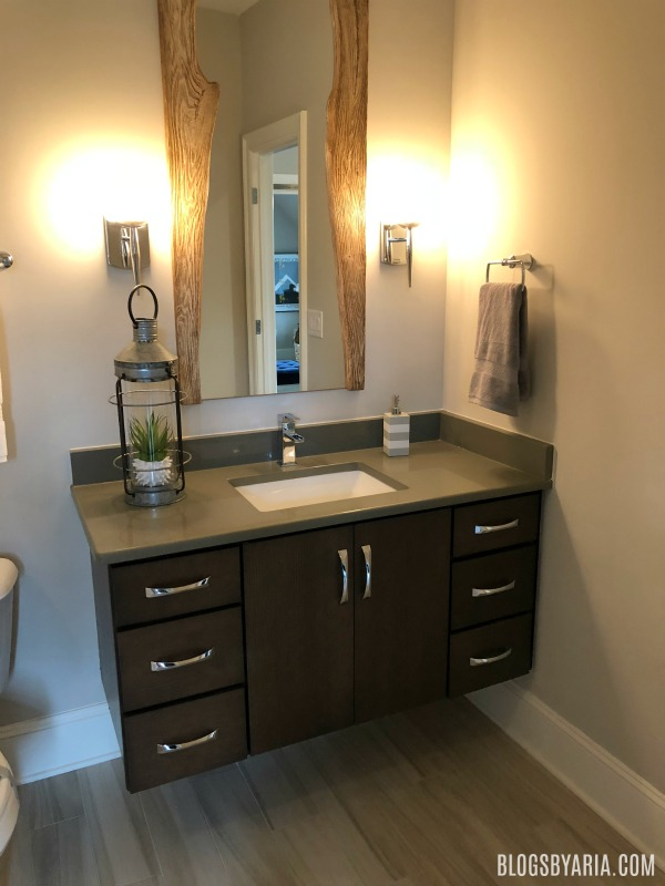 floating vanity bathroom