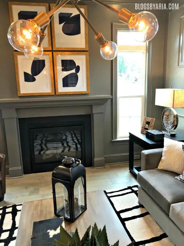 living room light fixture