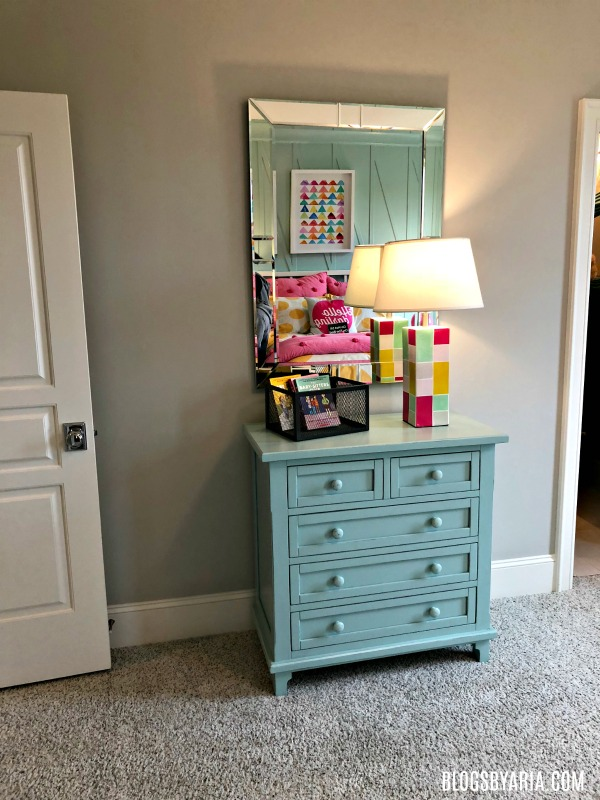 turquoise girls bedroom decor