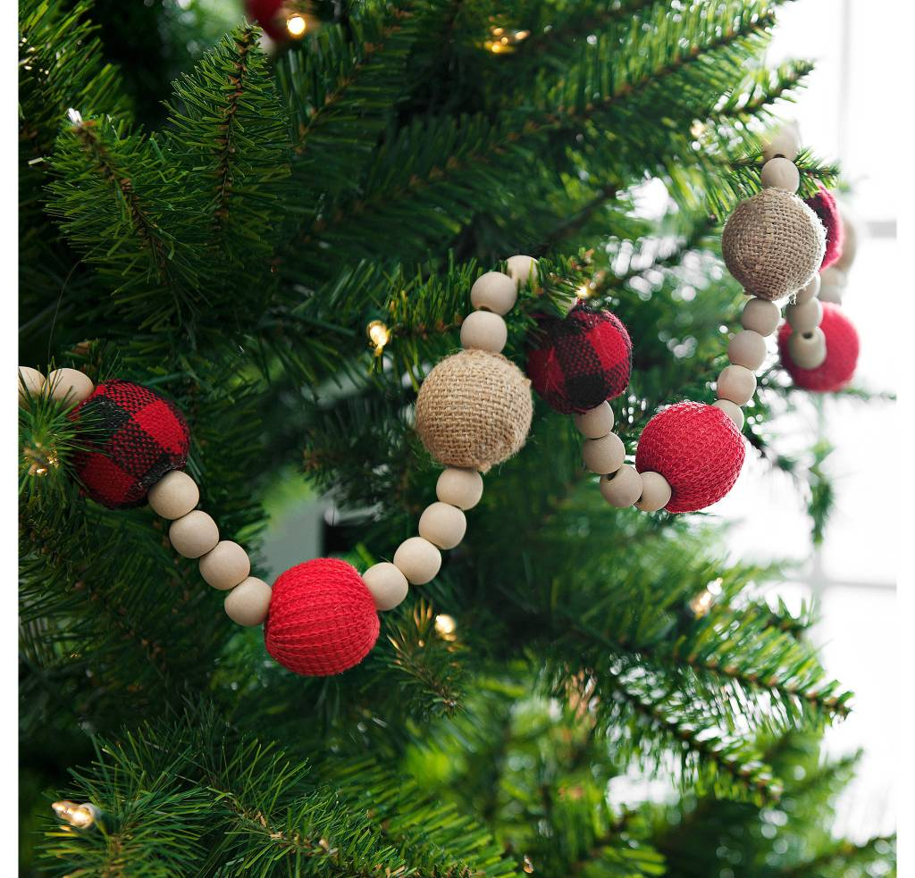 Switching out your garland is a quick and inexpensive way to update the look of your tree while staying on budget