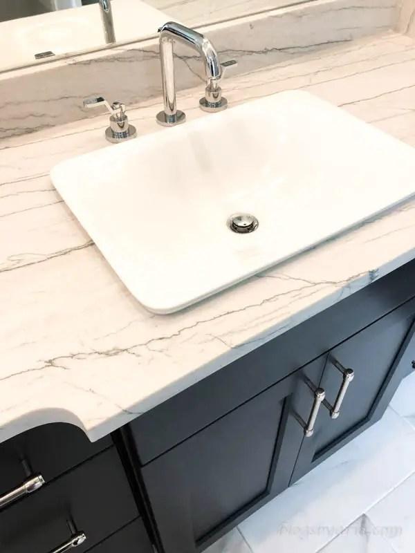 master bathroom sink and vanity