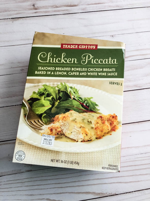 A Few Good Things - Trader Joe's Chicken Piccata - a must try!!
