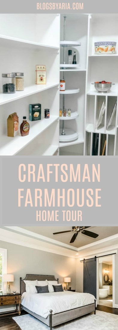 Craftsman Farmhouse Home Tour
