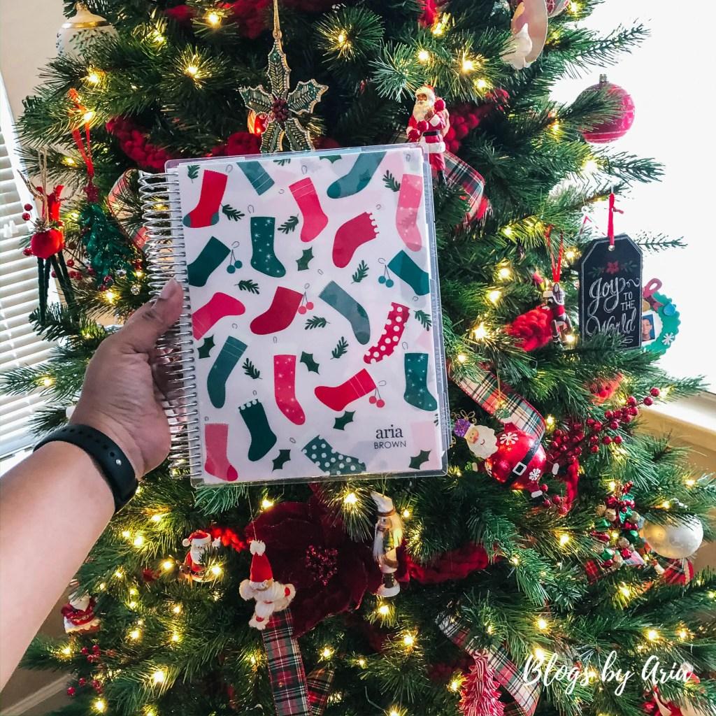 planner Christmas tree