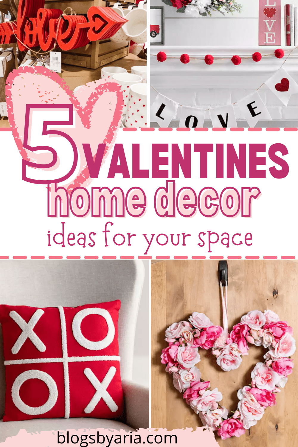 Valentines home decor ideas for your space