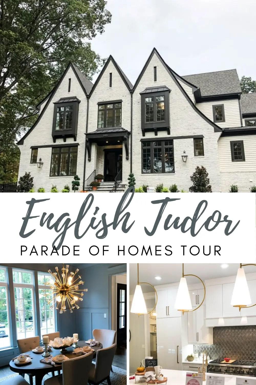 English Tudor Parade of Homes Tour full of stunning interior design ideas