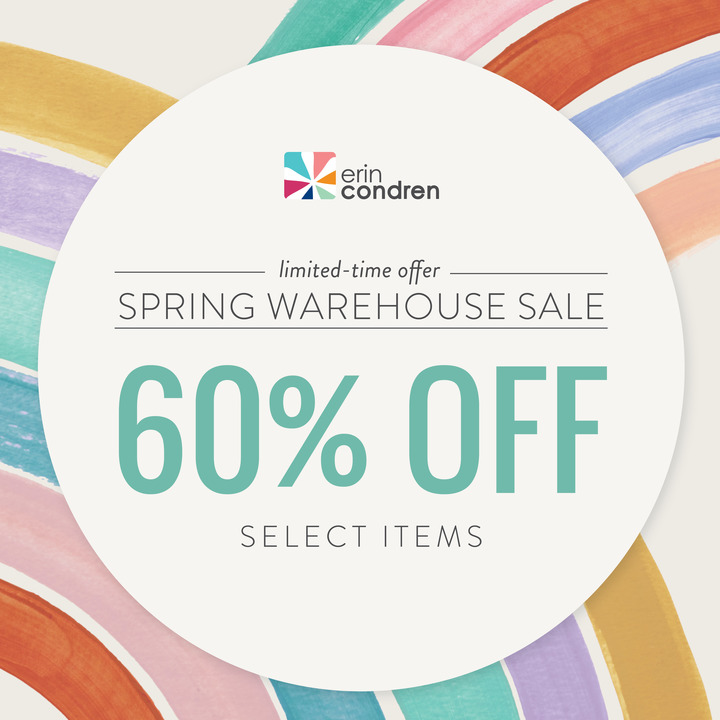 Erin Condren Spring Warehouse Sale