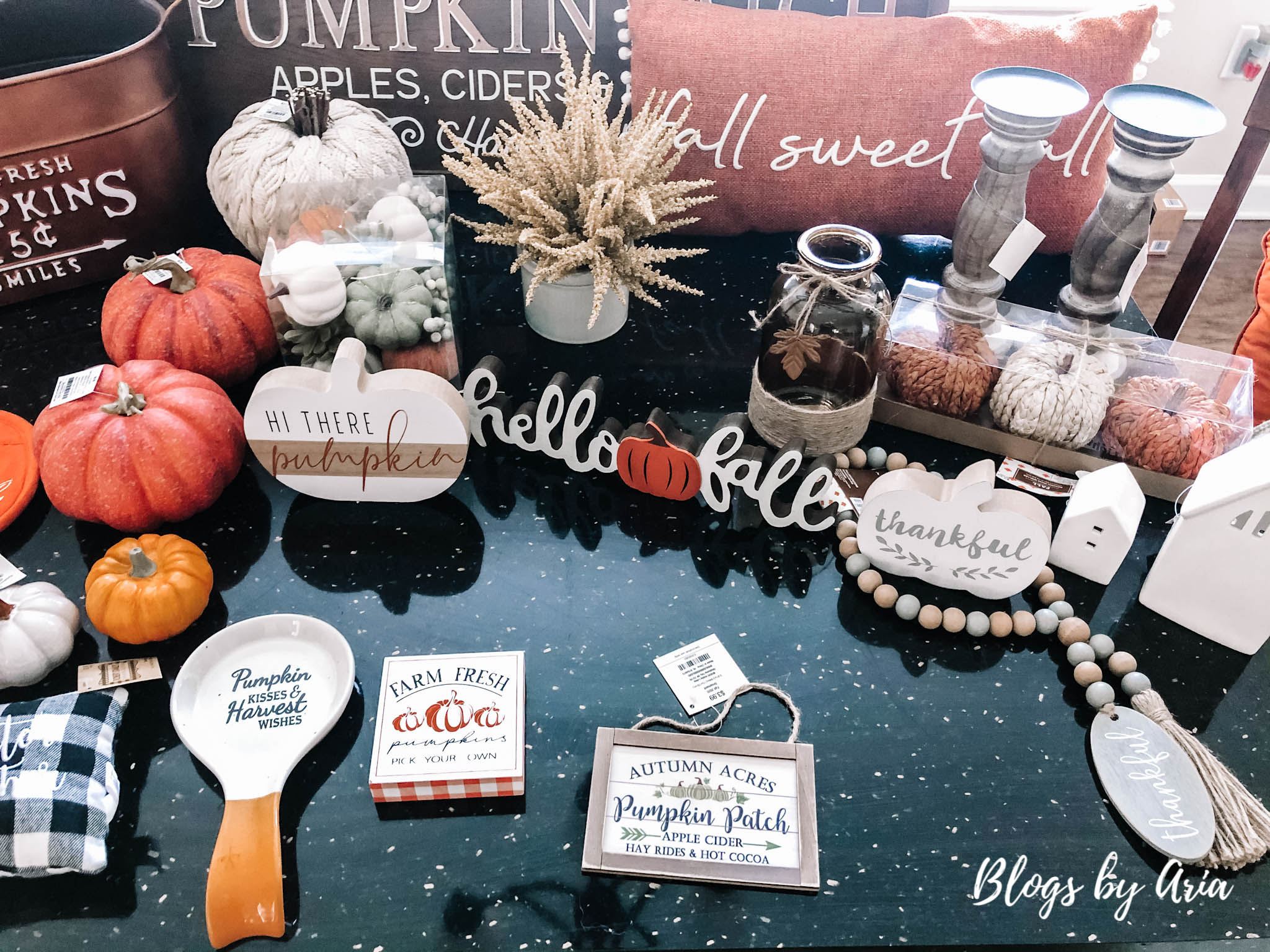 huge fall decoration haul