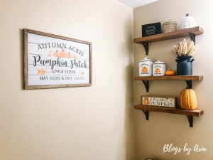 Pumpkin Powder Room