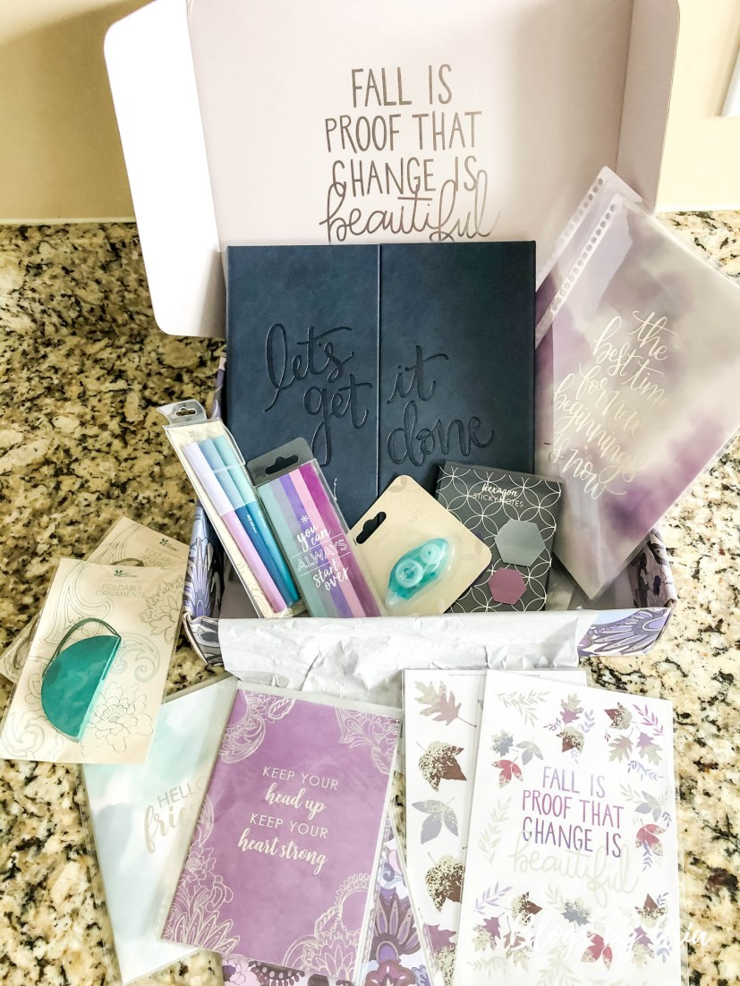 Erin Condren Seasonal Surprise Box 2020