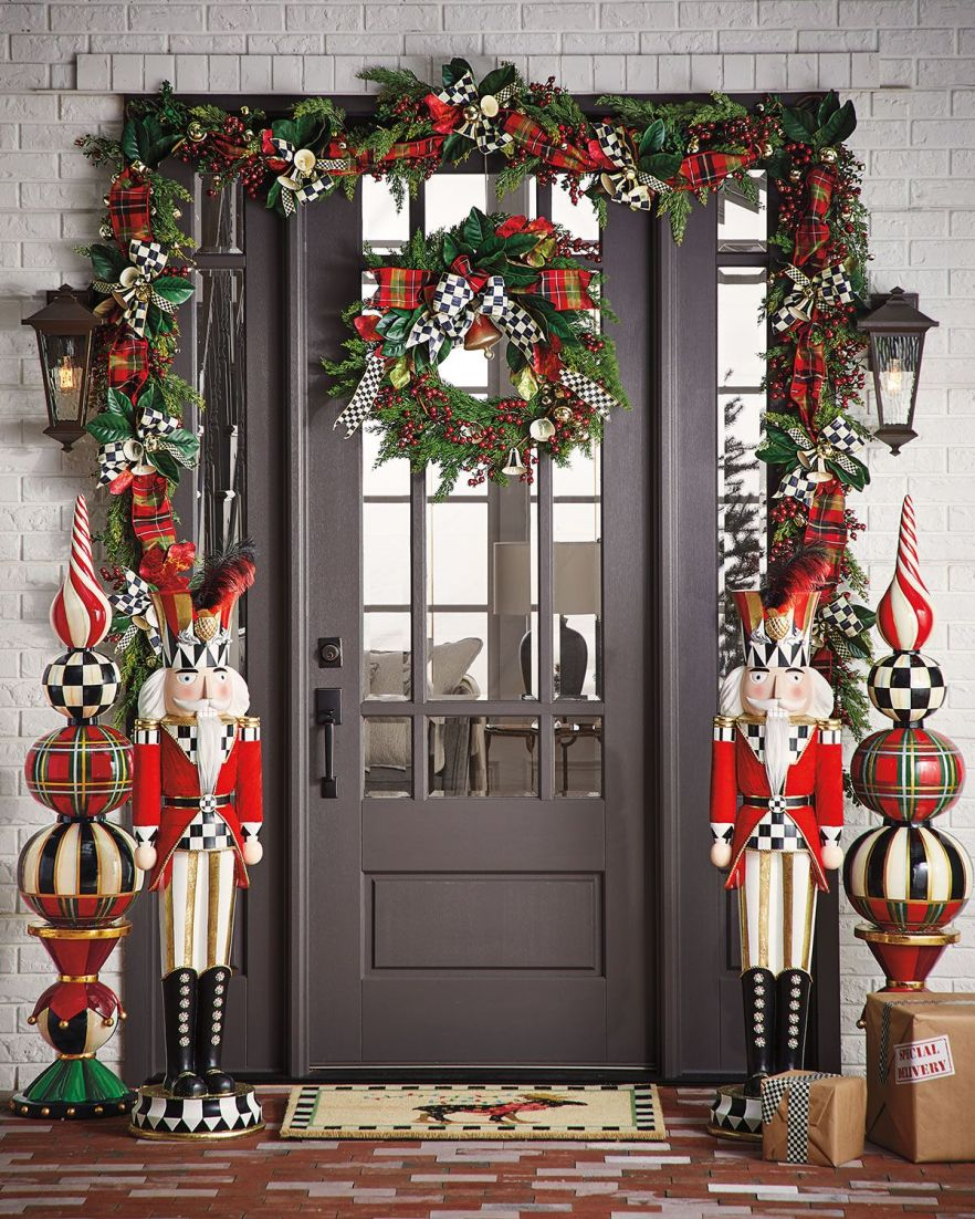 Christmas Nutcracker Front Porch