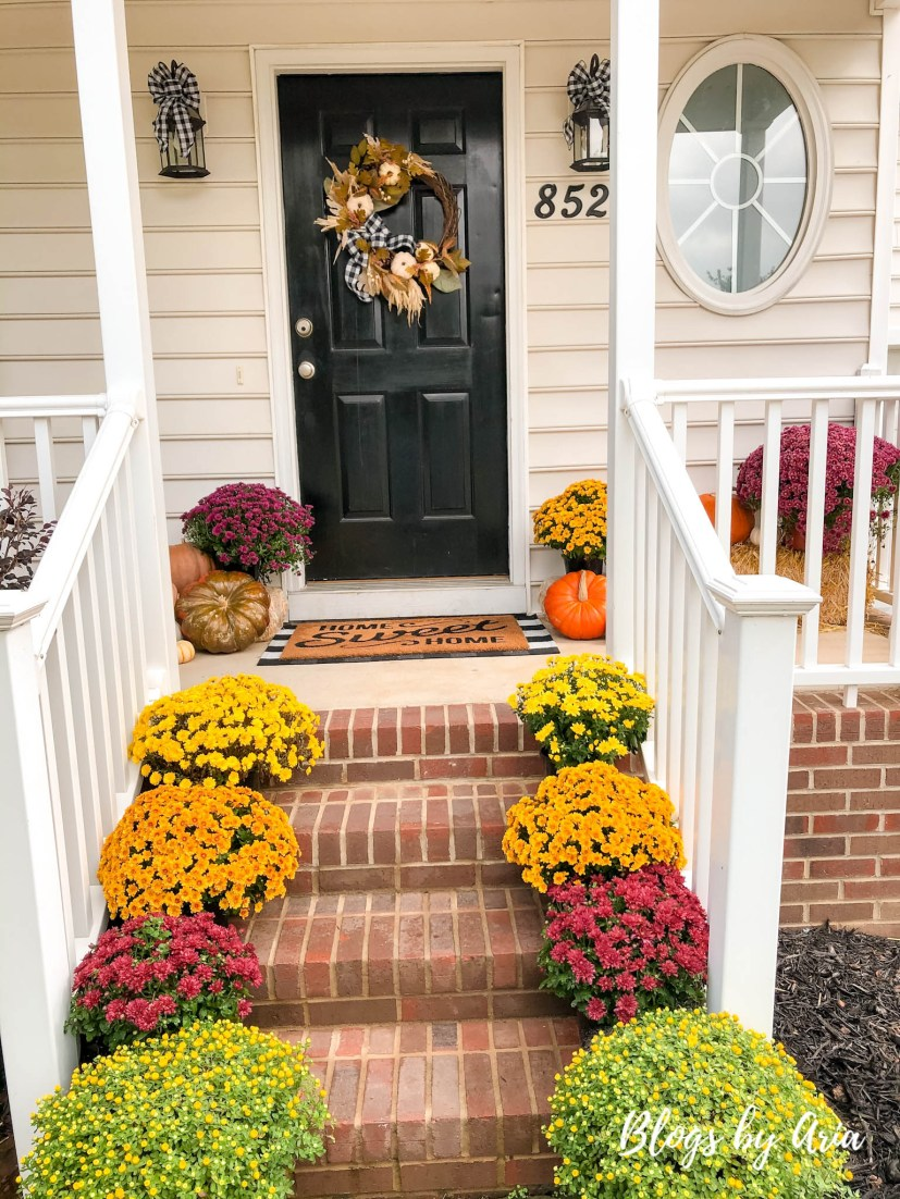 fall decorating ideas for outside