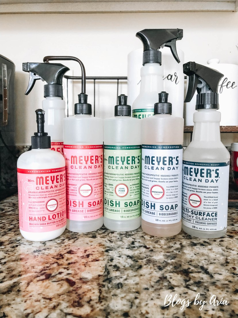 Mrs. Meyers Holiday Scents