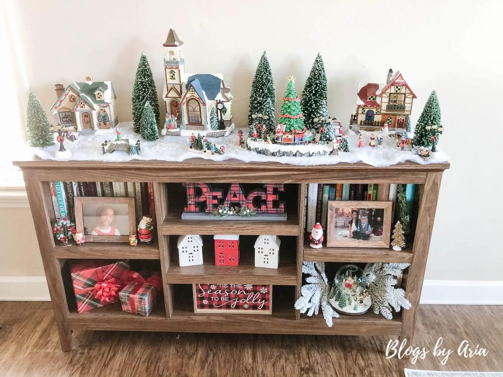Christmas village Costco