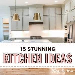 15 Beautiful Kitchen Design Ideas