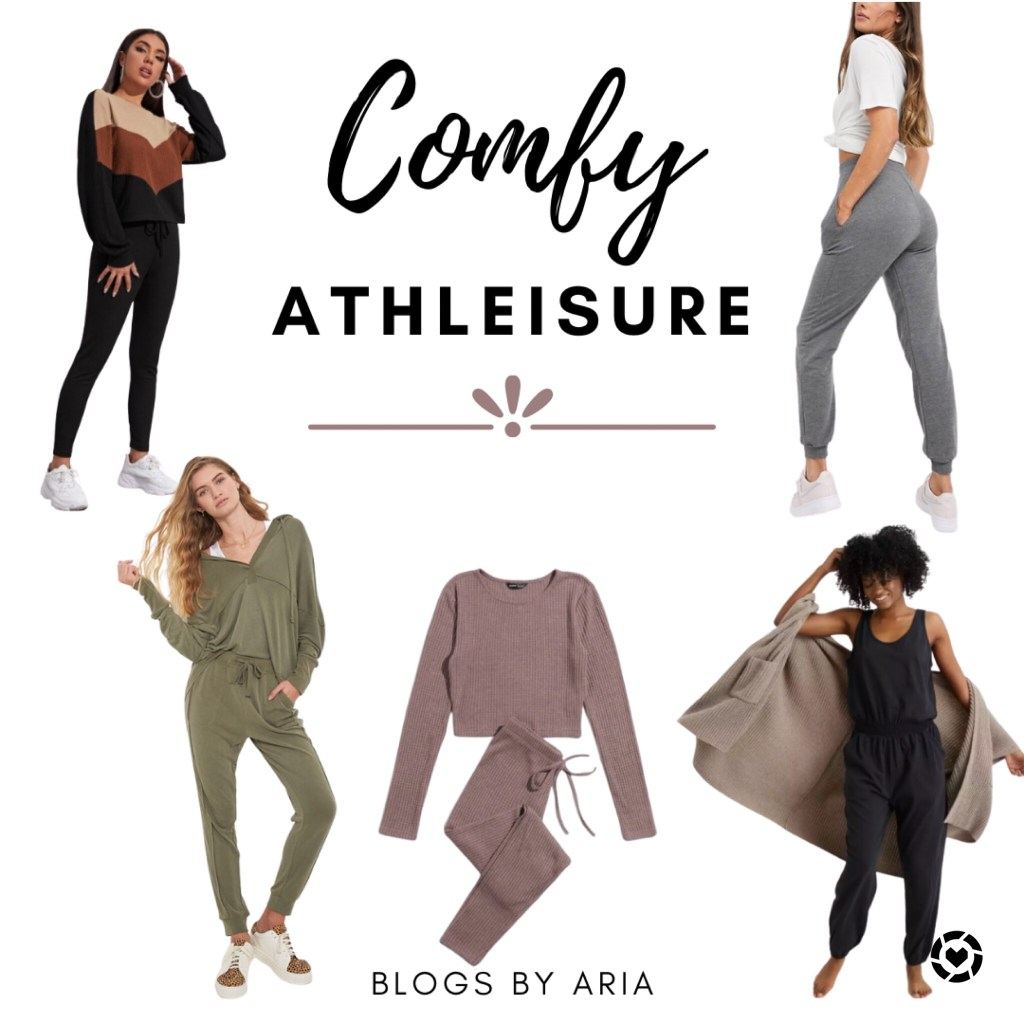 comfy athleisure style
