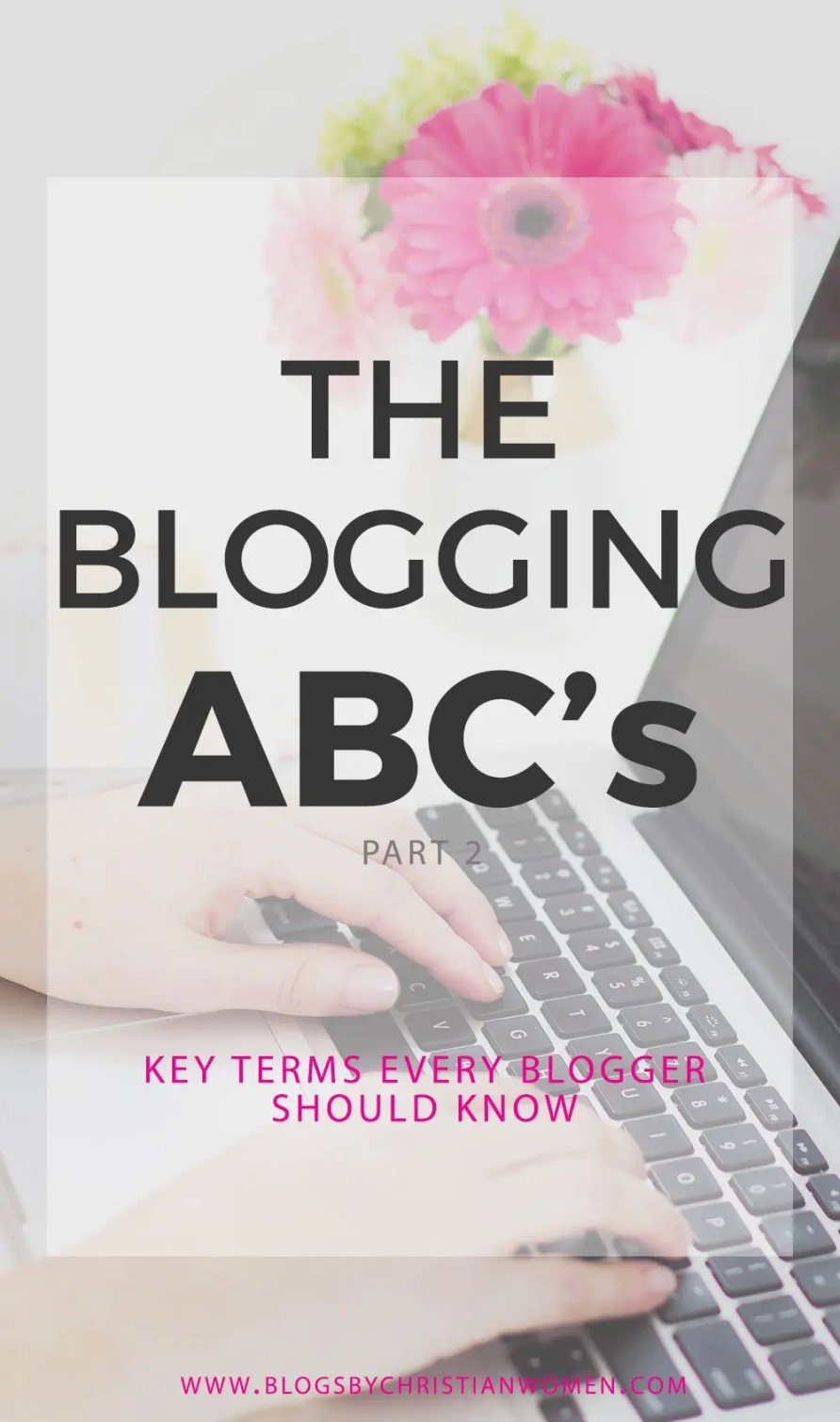 The ABCs of Blogging | The beginner bloggers A-Z blogging vocabulary guide