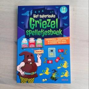 het superleuke griezel spelletjesboek
