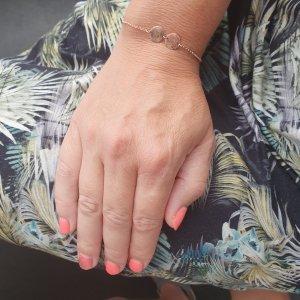 armband met vingerafdrukken kinderen