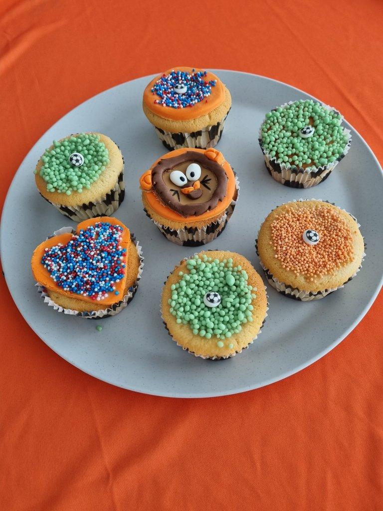 EK Cupcakes maken - Blogsbyingrid