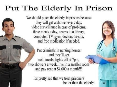 Put The Elderly In Prison
