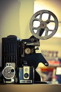 old-fashion-movie-projector