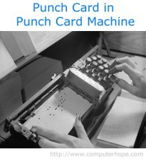 punch-card-in-machine