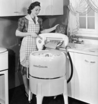 using-wringer-washer