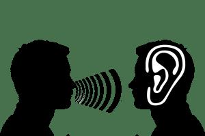 luisterend oor zonder oordeel