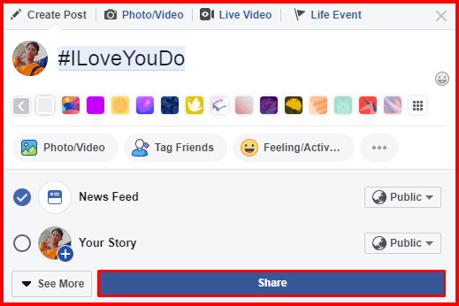 Can I Really Create Hashtag On Facebook - How To Use Facebook Hashtag