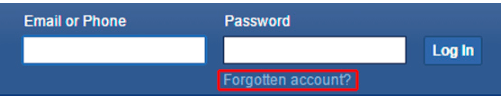 Forget your Password on Facebook? Here is how to recover it