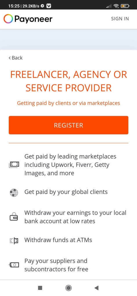 How to Create a Payoneer account in Pakistan