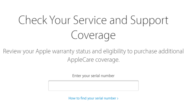 How to Check Used iPhone warranty on Apple's Website