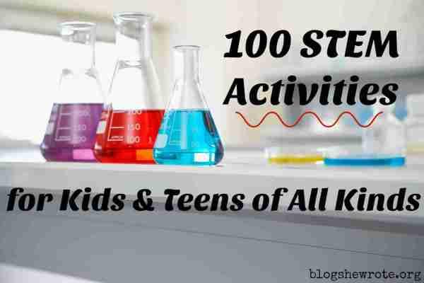 Stem Projects Kids & Teens Of Kinds