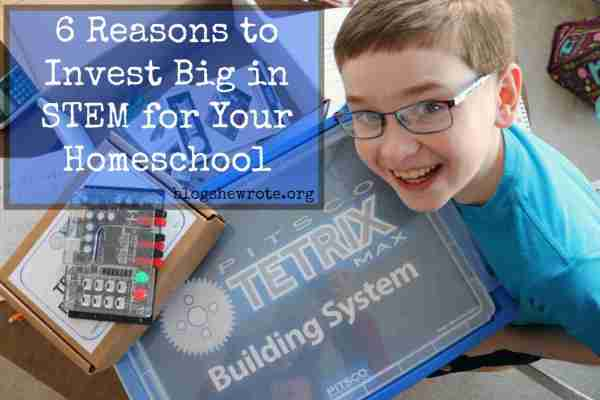 6 Reasons Invest Big In Stem Homeschool