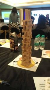 Jenga tower