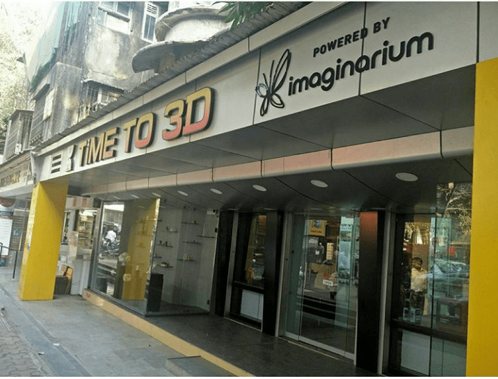 Time to 3D Mumbai