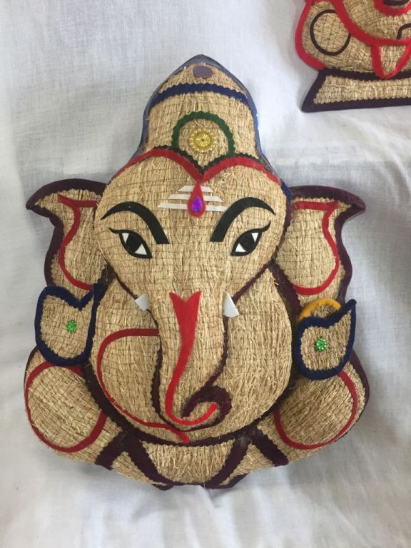 hand crafted lord ganesha